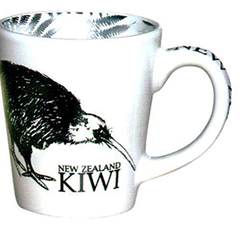 NZ Kiwi Espresso Cups - 10357 SET OF  2