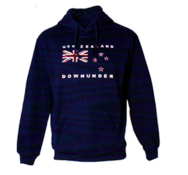 New Zealand Flag Hoodie - AJ446 MEN