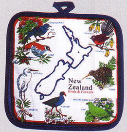 New Zealand Birds Pot Holder - MBFP