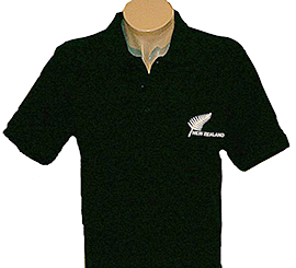 New Zealand & Fern Polo Shirt - APL220