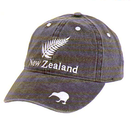 Fern New Zealand & Kiwi Cap - CA1085