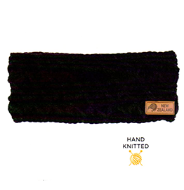New Zealand Hand Knitted Headband - CA1175