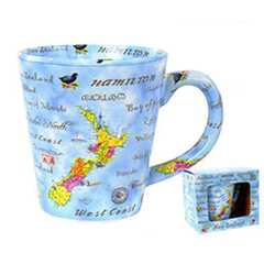 NZ Places Latte Mug - MUG85