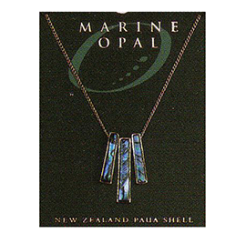 Paua Fine Chain Necklace - PJS25