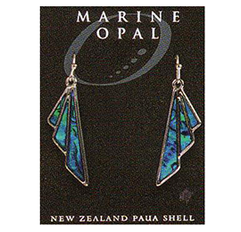Paua Earrings - MOE80