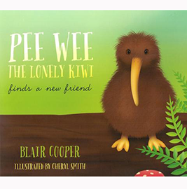 Pee Wee The Lonely Kiwi Finds A New Friend - 5FLY01