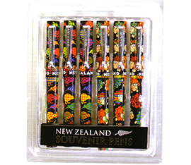 Kiwis & Sheep Pens - 40126 Pack of 6