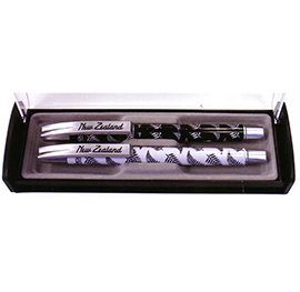 Silver Ferns Set of 2 Pens - 40063