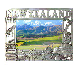 NZ Kiwi Pewter Photo Frame - MISC90P