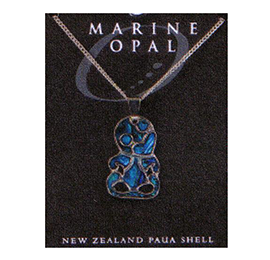 Paua Fine Chain Necklace - PJS90