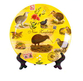 Kiwi & NZ Birds Plate - PLA425