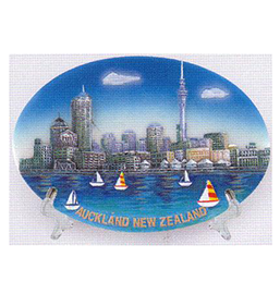 Auckland Scenes Plate - RPW9