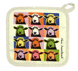 Pop Art Sheep Pot Holder - PH666