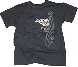 Scratched Kiwi New Zealand T-Shirt - GT534-72