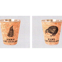 Fern & Kiwi Cork Shot Glasses - SH49 50 Set of 6