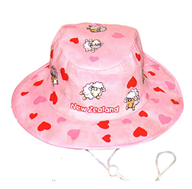Sheep Hearts Hat - 60683 CHILD