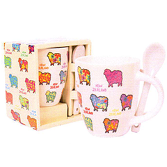 Sheep Mini Mug & Spoon - MUG78