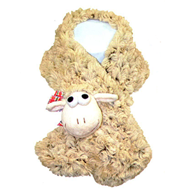 Cream Sheep Neck Warmer - 75079 CHILD