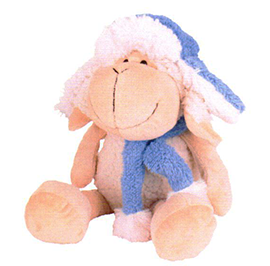 Sheep In Hat & Scarf - TS4310