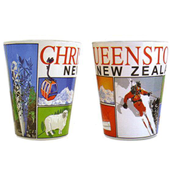 Christchurch & Queenstown Shot Glasses - 10200/ 01 SET of 4