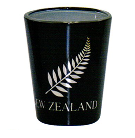 Silver Fern Shot Glasses - 10259 Set of 2