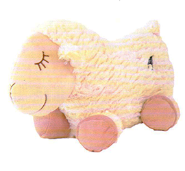 New Zealand Sleeping Sheep Cushion - CUS38