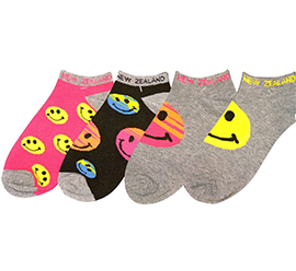 Smiley Sports Socks - 55159/60/61/62 SET of 8