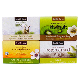 Manuka Honey, Rotorua Mud, Kiwifruit & Lanolin Guest Soap - GS4