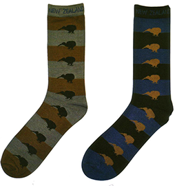 MEN Kiwis Socks - 55145/46 Set Of 4