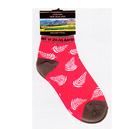 WOMENS Short Fern Socks - SOX01 SET of 4
