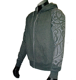 New Zealand Tattoo Arm Hoodie - PK MEN