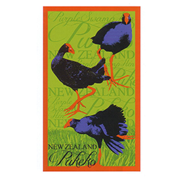 Pukeko Tea Towel - 65159