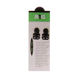 Plastic Tikis - 024C PACK of 12