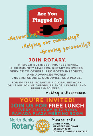 Joining North Banks Rotary club information