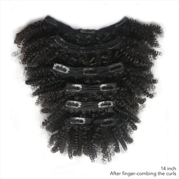 Kinky Coily clip-ins -  Buy 2 bundles with FREE shipping! code: CE-SF - Over The Top