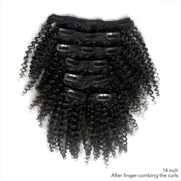 Bouncy Curly clip-ins -  Buy 2 bundles with FREE shipping! code: CE-SF - Over The Top