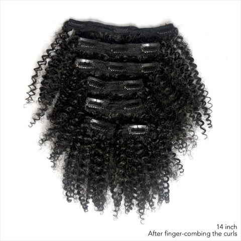Bouncy Curly clip-ins - Over The Top