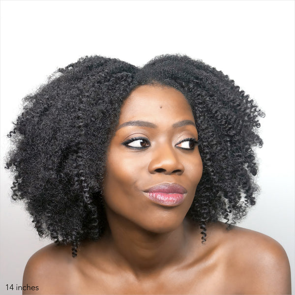 Kinky Curly clip-ins - Buy 2 bundles with FREE shipping! code: CE-SF - Over The Top