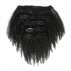 Kinky Curly clip-ins - Over The Top
