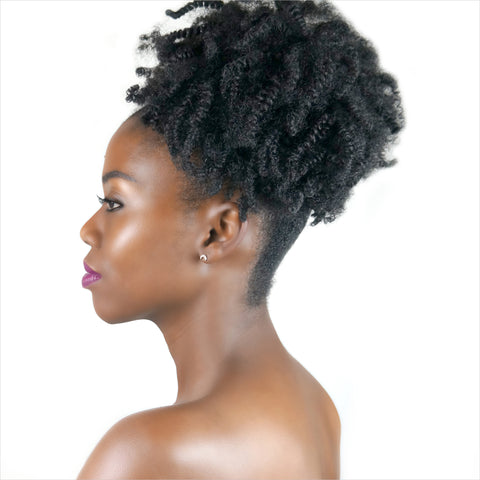 "Afro kinky curly ponytail ""Zahra"" - Over The Top"