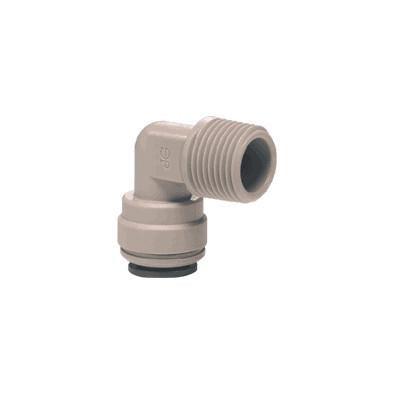 John Guest PI Fittings Rigid Elbow NPTF
