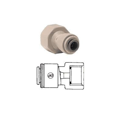 John Guest PI Fittings Female Adaptor BSP Flat