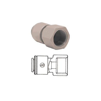 John Guest PI Fittings Female Adaptor NPTF