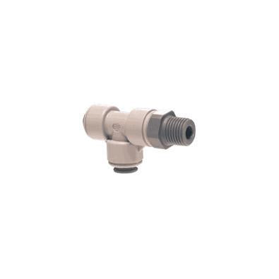 John Guest PI Fittings Swivel Male Run Tee NPTF