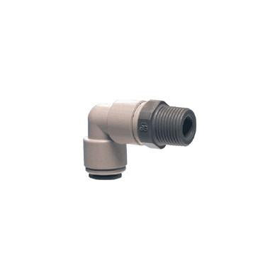 John Guest PI Fittings Swivel Elbow NPTF