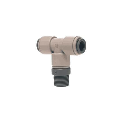 John Guest PI Fittings Swivel Branch Tee NPTF