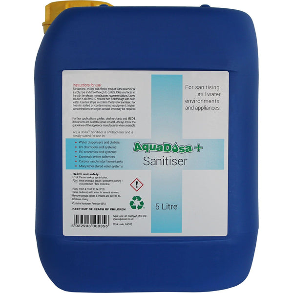 Aqua Dosa Plus Internal Sanitiser (5 Ltr) (NAD65)