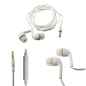 Universal 3mm earphones with microphone (set of 3)
