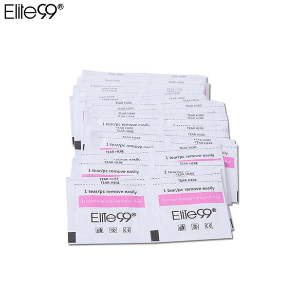 Elite99 50pcs Gel Polish Remover Wraps Pads