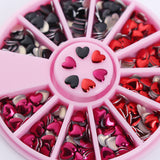 Heart Design 3D Nail Art DIY  Decoration